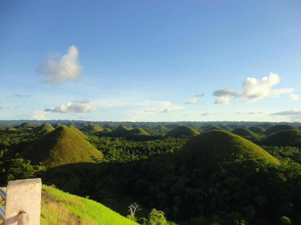 chocolate hills bohol filipinas
