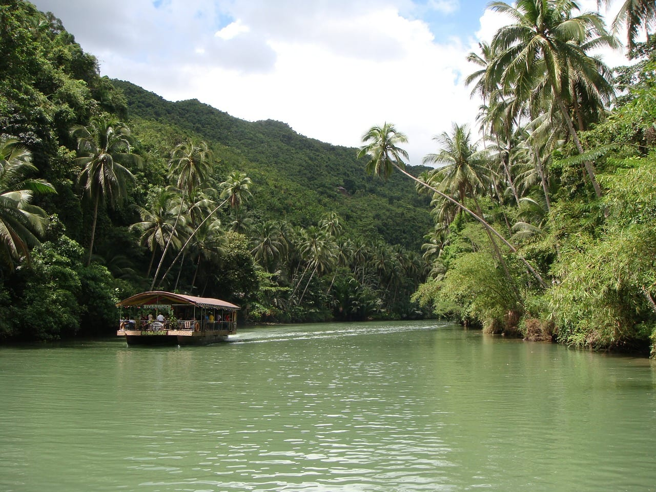 loboc river bohol filipinas