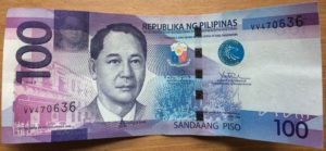 moneda filipina 100 pesos